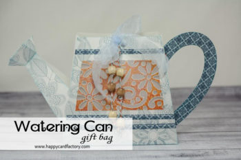 April Showers Watering Can Gift Bag