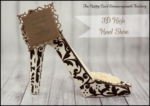 3D High Heel