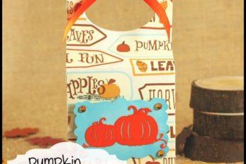 {Free Cut File} Pumpkin Gable Box