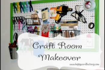 My Craft Room Makeover, Finally!