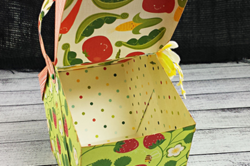 Not Your Average Garden Variety Paper Basket