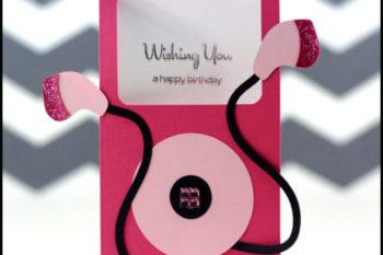 iPod Birthday Card
