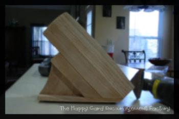Renew an Old Knife Wood Block