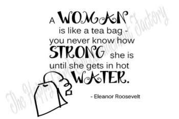 {FREE PRINTABLE} Eleanor Roosevelt Quote Digi Stamp