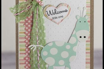Welcome Little Giraffe