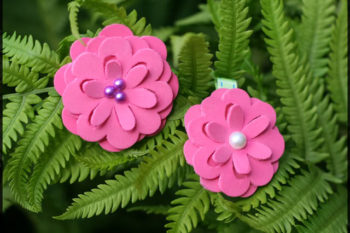 Parker Flower Hair Clips