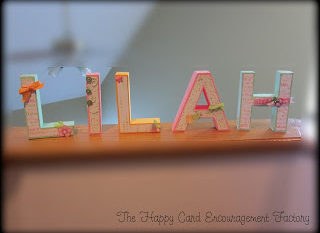 Baby Lilah Letters