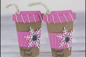 Coffee Cup Trendy Tags