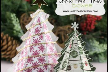 Christmas Tree Treat Boxes
