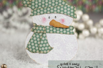 Quick & Easy Snowman Card