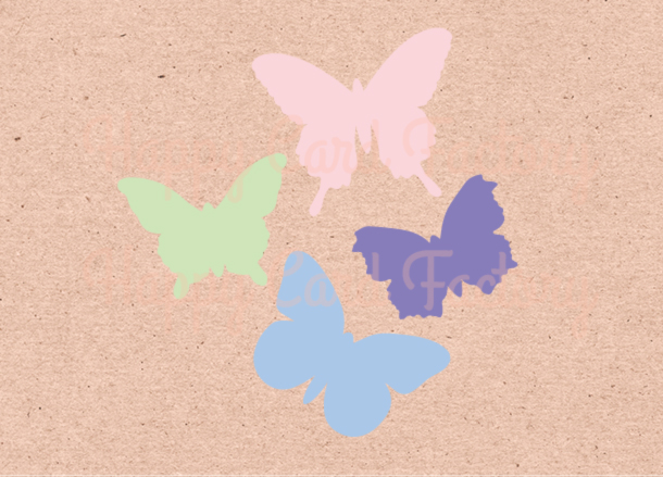 Butterfly-Silhouettes