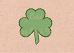 Scalloped Four Leaf Clover