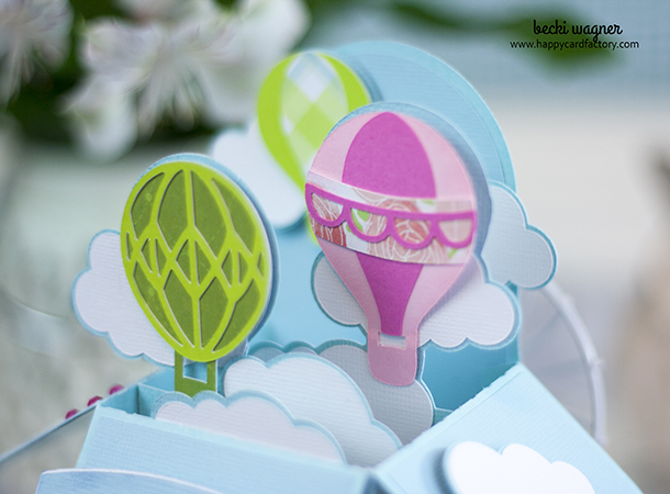 Hot Air Balloon Box Card (5)