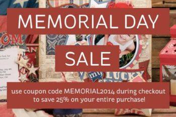 SVGCuts Annual Memorial Day Sale!