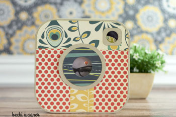 Instant Camera Box with Album