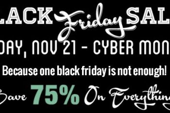 The Lettering Delights Black Friday Sale Has Started!