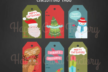 New Christmas Tags in the Shop!
