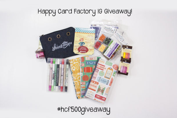 #hcf500giveaway