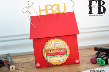 Happy Birthday Burger Box