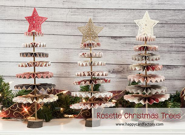 Rosette Christmas Trees 2
