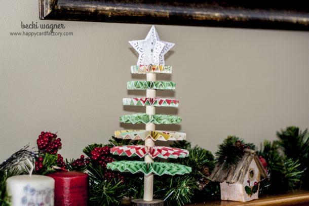 OA Rosette Christmas tree