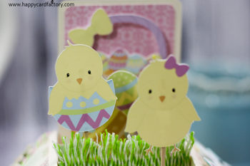easter card box