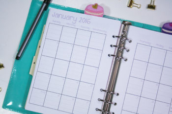 2016 Planner Calendars now in stock!