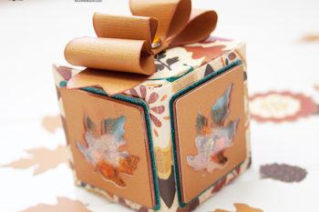 Autumn Shaker Box