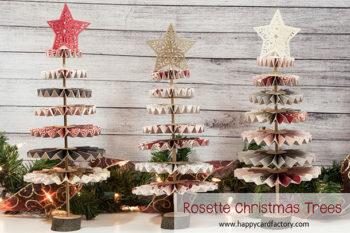 Rosette Christmas Trees