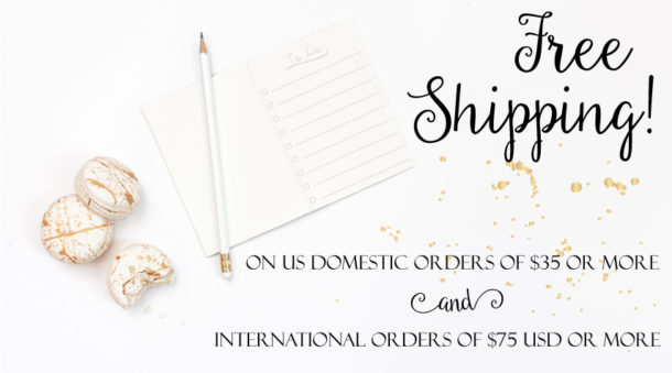 free shipping amounts