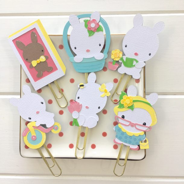 bunny clips for easter spring
